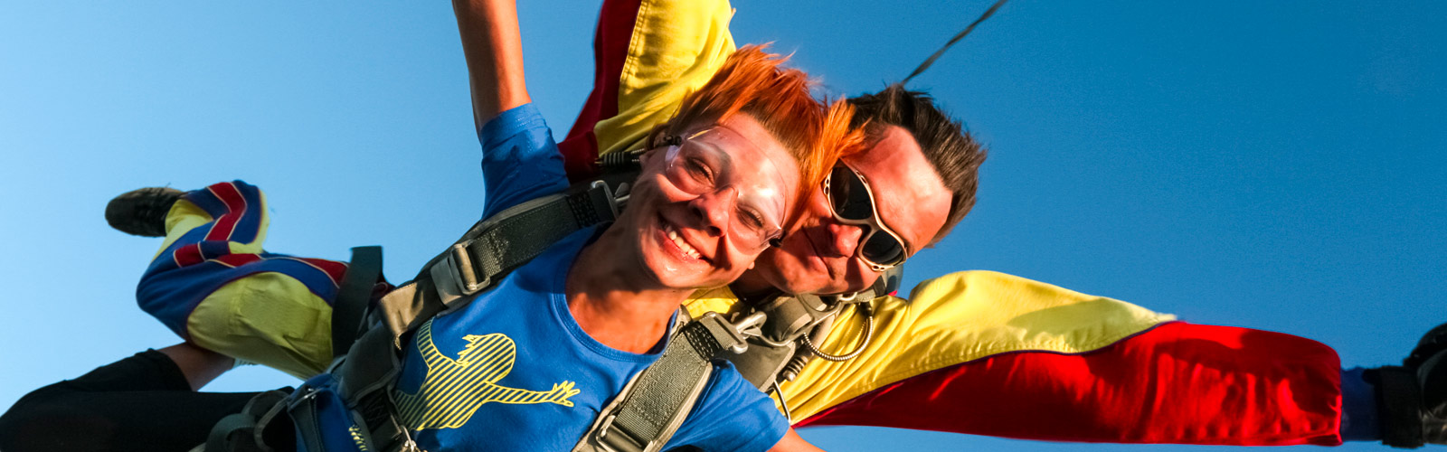 Sky diving at Airlie Beach