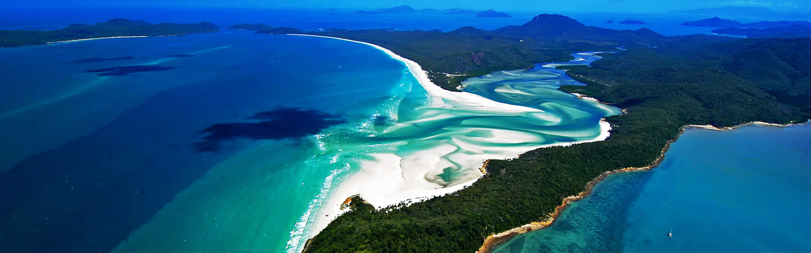 Great Barrier Reef Whitehaven Beach Whitsunday Island